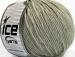 Wool Cord Aran Light Grey