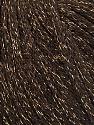 Fiber Content 50% Wool, 38% Acrylic, 12% Metallic Lurex, Brand ICE, Gold, Brown, Yarn Thickness 4 Medium  Worsted, Afghan, Aran, fnt2-51371
