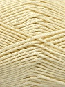 Fiber Content 50% Acrylic, 50% Bamboo, Brand ICE, Cream, Yarn Thickness 2 Fine  Sport, Baby, fnt2-51651