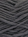 Fiber Content 100% Wool, Brand ICE, Dark Grey, Yarn Thickness 5 Bulky  Chunky, Craft, Rug, fnt2-51913