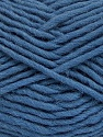 Fiber Content 100% Wool, Smoke Blue, Brand ICE, Yarn Thickness 5 Bulky  Chunky, Craft, Rug, fnt2-51921