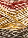Fiber Content 100% Antipilling Acrylic, White, Olive Green, Khaki, Brand ICE, Copper, Yarn Thickness 4 Medium  Worsted, Afghan, Aran, fnt2-52065