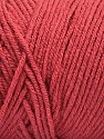 Items made with this yarn are machine washable & dryable. Fiber Content 100% Dralon Acrylic, Terra Cotta, Brand ICE, Yarn Thickness 4 Medium  Worsted, Afghan, Aran, fnt2-52577