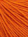 Fiber Content 55% Baby Alpaca, 45% Superwash Extrafine Merino Wool, Orange, Brand ICE, Yarn Thickness 3 Light  DK, Light, Worsted, fnt2-52766