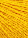 Fiber Content 55% Baby Alpaca, 45% Superwash Extrafine Merino Wool, Yellow, Brand ICE, Yarn Thickness 3 Light  DK, Light, Worsted, fnt2-52767