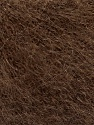 Fiber Content 52% SuperKid Mohair, 35% Polyamide, 13% Superwash Extrafine Merino Wool, Brand ICE, Brown, Yarn Thickness 1 SuperFine  Sock, Fingering, Baby, fnt2-52948