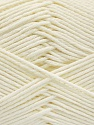 Baby cotton is a 100% premium giza cotton yarn exclusively made as a baby yarn. It is anti-bacterial and machine washable! Fiber Content 100% Giza Cotton, White, Brand ICE, Yarn Thickness 3 Light  DK, Light, Worsted, fnt2-53063