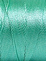Fiber Content 100% Polyester, Mint Green, Brand ICE, Yarn Thickness 0 Lace  Fingering Crochet Thread, fnt2-53239