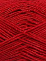 Fiber Content 100% Mercerised Cotton, Brand ICE, Dark Red, Yarn Thickness 2 Fine  Sport, Baby, fnt2-53797