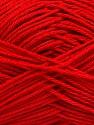 Fiber Content 100% Mercerised Cotton, Red, Brand ICE, Yarn Thickness 2 Fine  Sport, Baby, fnt2-53798