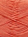 Fiber Content 100% Mercerised Cotton, Light Orange, Brand ICE, Yarn Thickness 2 Fine  Sport, Baby, fnt2-53801