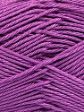 Fiber Content 100% Mercerised Cotton, Lilac, Brand ICE, Yarn Thickness 2 Fine  Sport, Baby, fnt2-53806