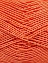 Ne: 8/4. Nm 14/4 Fiber Content 100% Mercerised Cotton, Salmon, Brand ICE, Yarn Thickness 2 Fine  Sport, Baby, fnt2-54057