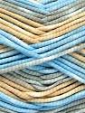 Fiber Content 100% Exoline, White, Brand ICE, Grey, Blue, Beige, Yarn Thickness 4 Medium  Worsted, Afghan, Aran, fnt2-54487