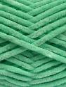 Fiber Content 100% Micro Fiber, Mint Green, Brand Ice Yarns, Yarn Thickness 4 Medium  Worsted, Afghan, Aran, fnt2-54509