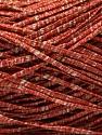 Fiber Content 83% Linen, 6% Viscose, 10% Polyester, 1% Metallic Lurex, Brand ICE, Cream, Copper, fnt2-54950