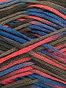 Fiber Content 100% Acrylic, Salmon, Brand ICE, Dark Khaki, Blue, Yarn Thickness 2 Fine  Sport, Baby, fnt2-55122