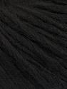 Fiber Content 50% Wool, 50% Acrylic, Brand ICE, Black, fnt2-55403