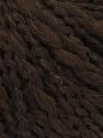 Fiber Content 50% Wool, 40% Acrylic, 10% Polyamide, Brand ICE, Dark Brown, Yarn Thickness 4 Medium  Worsted, Afghan, Aran, fnt2-55416