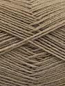 Fiber Content 75% Superwash Wool, 25% Polyamide, Brand ICE, Camel, Yarn Thickness 1 SuperFine  Sock, Fingering, Baby, fnt2-55468