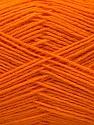 Fiber Content 75% Superwash Wool, 25% Polyamide, Orange, Brand ICE, Yarn Thickness 1 SuperFine  Sock, Fingering, Baby, fnt2-55470