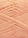 Fiber Content 75% Superwash Wool, 25% Polyamide, Light Salmon, Brand ICE, Yarn Thickness 1 SuperFine  Sock, Fingering, Baby, fnt2-55471