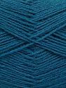 Fiber Content 75% Superwash Wool, 25% Polyamide, Teal, Brand ICE, Yarn Thickness 1 SuperFine  Sock, Fingering, Baby, fnt2-55476