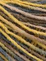Fiber Content 100% Acrylic, Yellow, Brand ICE, Grey, Camel, Yarn Thickness 3 Light  DK, Light, Worsted, fnt2-55606