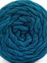 Fiber Content 100% Wool, Teal, Brand ICE, Yarn Thickness 6 SuperBulky  Bulky, Roving, fnt2-55656