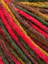 Fiber Content 50% Wool, 50% Acrylic, Brand ICE, Green Shades, Fuchsia, Brown, Yarn Thickness 4 Medium  Worsted, Afghan, Aran, fnt2-55742