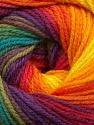 Fiber Content 100% Acrylic, Rainbow, Brand ICE, Yarn Thickness 3 Light  DK, Light, Worsted, fnt2-55959
