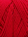 Items made with this yarn are machine washable & dryable. Fiber Content 100% Dralon Acrylic, Brand ICE, Candy Pink, Yarn Thickness 4 Medium  Worsted, Afghan, Aran, fnt2-56128