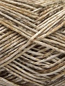 Fiber Content 100% Micro Acrylic, White, Brand ICE, Brown Shades, Yarn Thickness 3 Light  DK, Light, Worsted, fnt2-56469