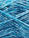Fiber Content 100% Micro Acrylic, White, Turquoise, Brand ICE, Blue, Yarn Thickness 3 Light  DK, Light, Worsted, fnt2-56473