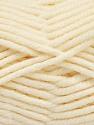 Fiber Content 80% Acrylic, 20% Polyamide, Brand ICE, Cream, Yarn Thickness 5 Bulky  Chunky, Craft, Rug, fnt2-56583