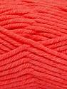 Fiber Content 80% Acrylic, 20% Polyamide, Neon Orange, Brand ICE, Yarn Thickness 5 Bulky  Chunky, Craft, Rug, fnt2-56589