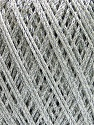 Fiber Content 55% Polyester, 45% Silk, Silver, Brand ICE, Yarn Thickness 2 Fine  Sport, Baby, fnt2-56858