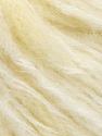 Fiber Content 40% Wool, 30% Polyamide, 15% Acrylic, 15% Mohair, Brand ICE, Cream, Yarn Thickness 4 Medium  Worsted, Afghan, Aran, fnt2-56876