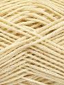 natural yarn  Fiber Content 40% Extrafine Merino Wool, 30% Linen, 30% Silk, Brand ICE, Cream, fnt2-56948