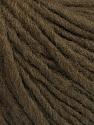 Fiber Content 50% Acrylic, 50% Wool, Brand ICE, Dark Brown, Yarn Thickness 4 Medium  Worsted, Afghan, Aran, fnt2-57006