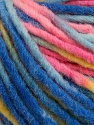 Fiber Content 60% Acrylic, 40% Wool, Yellow, Pink, Brand ICE, Green, Blue Shades, Yarn Thickness 5 Bulky  Chunky, Craft, Rug, fnt2-57248