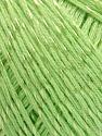 Fiber Content 70% Mercerised Cotton, 30% Viscose, Light Green, Brand KUKA, Yarn Thickness 2 Fine  Sport, Baby, fnt2-57571