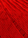 Fiber Content 70% Mercerised Cotton, 30% Viscose, Red, Brand KUKA, Yarn Thickness 2 Fine  Sport, Baby, fnt2-57574