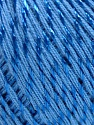 Fiber Content 70% Mercerised Cotton, 30% Viscose, Brand KUKA, Blue, Yarn Thickness 2 Fine  Sport, Baby, fnt2-57575