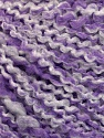 Fiber Content 90% Acrylic, 10% Polyamide, White, Lilac, Brand ICE, Yarn Thickness 2 Fine  Sport, Baby, fnt2-57606