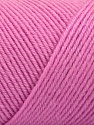 Fiber Content 50% Wool, 50% Acrylic, Light Pink, Brand ICE, Yarn Thickness 3 Light  DK, Light, Worsted, fnt2-57732