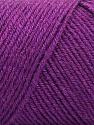 Fiber Content 50% Wool, 50% Acrylic, Purple, Brand ICE, fnt2-57734