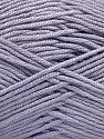 Fiber Content 50% Acrylic, 50% Bamboo, Light Lilac, Brand ICE, Yarn Thickness 2 Fine  Sport, Baby, fnt2-57843