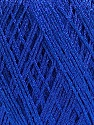 Fiber Content 90% Metallic Lurex, 10% Viscose, Brand ICE, Blue, fnt2-57851
