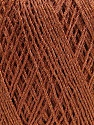 Fiber Content 90% Metallic Lurex, 10% Viscose, Brand ICE, Copper, fnt2-57853